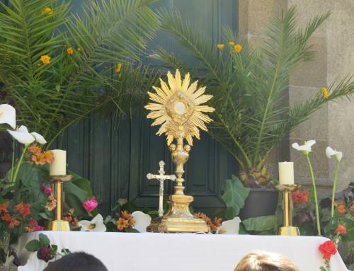 Feuille de la messe de la Fête Dieu 2020