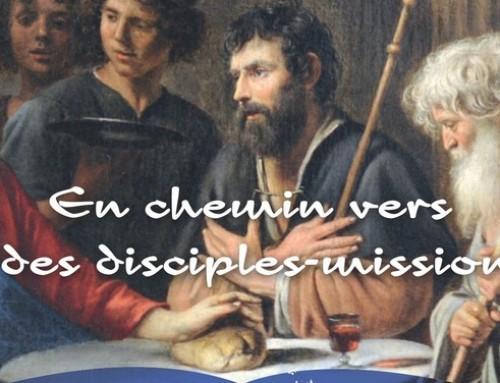 Démarche synodale 2017-2018 : en chemin vers la joie des disciples missionnaires