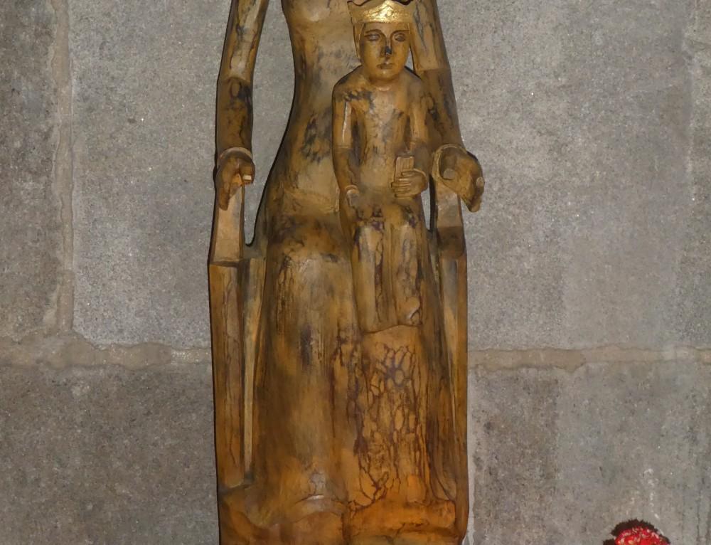 Bénédiction de la statue de Notre Dame de Rocamadour