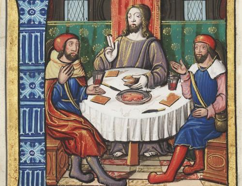 Feuille de la liturgie du troisième dimanche de Paques en confinement