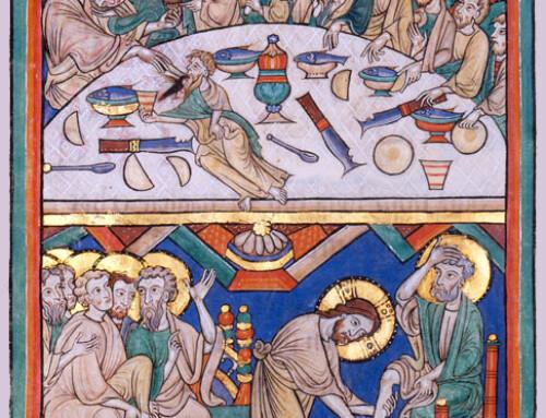 Feuille de la Commémoration de la Sainte Cène Jeudi Saint 2021