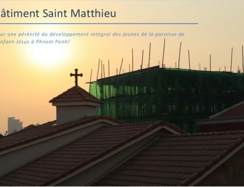 Quête du Carême : aidez à la construction du bâtiment Saint Mathieu